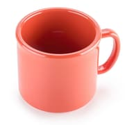 Carlisle 10 oz, 3.25''  PC Stackable Mug, Sunset Orange