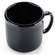 Carlisle 10 oz, 3.25''  PC Stackable Mug, Black