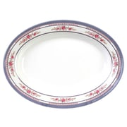 Thunder Group 12'' Oval Platter - Rose Collection