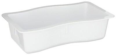 Carlisle 698402, 6.5 cup, 2.5'' Deep Half Size Modular Deli Pan, White 457437