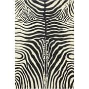 Karastan® Panache Serengeti Gallery Nylon Rug, 5'6 x 8'3, Black