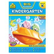 School Zone® Big Workbook, Grade Kindergarten/Ages 5-6