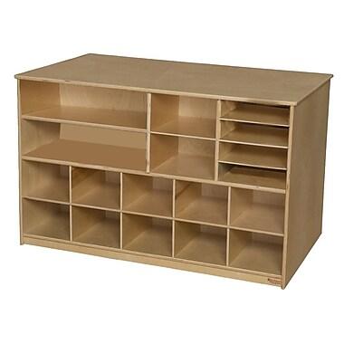 Wood Designs™ Storage Versatile Storage Without Trays, Birch