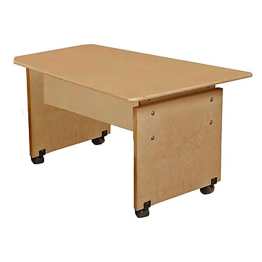 Wood Designs Adjustable Computer Table, Natural (WD41500)