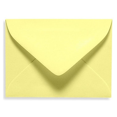 LUX #17 Mini Envelope (2 11/16 x 3 11/16) 500/Box, Lemonade (EXLEVC-15-500)