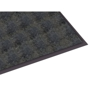 "Guardian Silver Series Polypropylene Entrance Mat 48"" x 36"", Black"