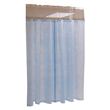 Medline® Disposable Mesh Free Cubicle Curtain Panel, Light Blue, 60