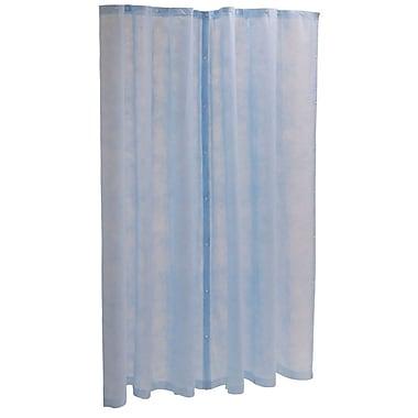 Medline® Disposable Cubicle Curtain Panel, Light Blue, 60