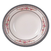 Thunder Group 10-3/8'' Soup Plate - Rose Collection