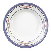 Thunder Group 7-7/8'' Soup Plate - Rose Collection
