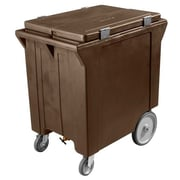 Carlisle IC2220-01, 200 lb Ice Caddy, Brown