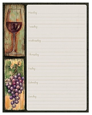 LANG Wine Country, Jumbo Weekly Planner 1009123