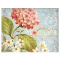 LANG® Boxed Note Cards With Envelopes, Pink Hydrangea