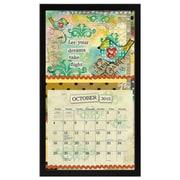 LANG® 15 x 25 1/4 Contemporary Wall Calendar Frame, Black