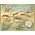 LANG® Boxed Note Cards With Envelopes, Sand Piper