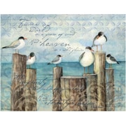 LANG® Boxed Note Cards With Envelopes, Coastal Breeze