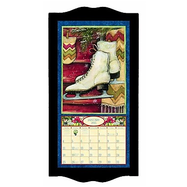 "LANG® 8 3/4"" x 17 3/4"" Vertical Wall Calendar Frame, Small, Black ..."