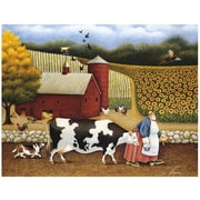 LANG® Boxed Note Cards With Envelopes, Aunt Sadie's Farm