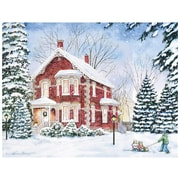 LANG® Boxed Christmas Cards With Envelopes, Evening Solitude