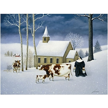LANG® Boxed Christmas Cards With Envelopes, Hillside Church