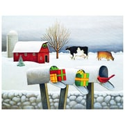 LANG® Boxed Christmas Cards With Envelopes, Christmas Surprises