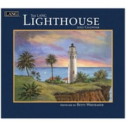 LANG® Lighthouse 2015 Standard Wall Calendar