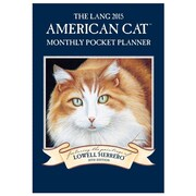 LANG® American Cat 2015 Monthly Pocket Planner