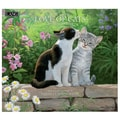 LANG® Love Of Cats 2015 Standard Wall Calendar