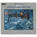 LANG® Legends In Gray 2015 Standard Wall Calendar
