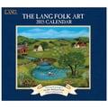 LANG® Folk Art 2015 Standard Wall Calendar