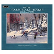 LANG® Hockey Hockey Hockey 2015 Standard Wall Calendar