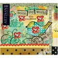 LANG® Artisan Color My World 2015 Standard Wall Calendar