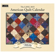 LANG® American Quilt 2015 Standard Wall Calendar