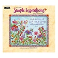 LANG® Simple Inspirations 2015 Standard Wall Calendar