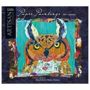 LANG® Paper Paintings 2015 Standard Wall Calendar