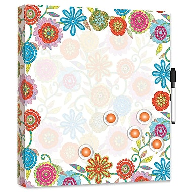LANG® 14in. x 14in. Deluxe Magnetic Message Center, Picking Daisies