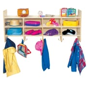 Wood Designs 8 Compartment Wall Cubby