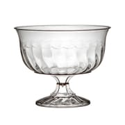 Fineline Settings, Inc Flairware Rippled Disposable Plastic 8 oz. Dessert Cup (240/Case)