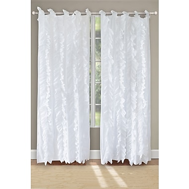 Greenland Home Fashions Waterfall Curtain Panels (Set of 2)