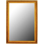 Second Look Mirrors French Louis XII Gold Framed Wall Mirror; 41'' H x 29'' W