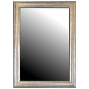 Hitchcock Butterfield Company Inca Silver Framed Wall Mirror; 53'' H x 41'' W