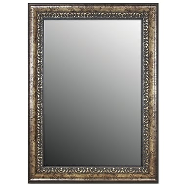 Second Look Mirrors Euro Olde World Vintage Silver Wall Mirror; 38'' H x 28'' W