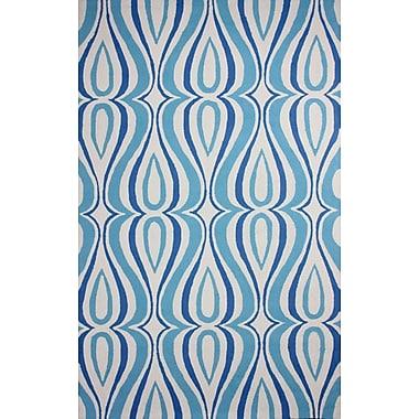 nuLOOM Uzbek Light Blue Luciano Area Rug; 5' x 8'