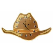 Trend Lab Cowboy Baby Hat Wall Clock