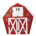 Trend Lab Baby Barnyard Barn Wall Clock