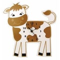 Trend Lab Baby Barnyard Cow Wall Clock