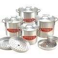 Cook N Home 12 Piece Tamale Pot Set