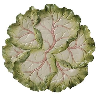 Kaldun & Bogle French Garden Cabbage 13'' Round Platter