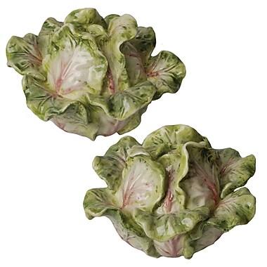 Kaldun & Bogle French Garden Cabbage Salt and Pepper Set