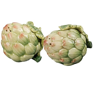 Kaldun & Bogle Giardino Botticelli Artichoke Salt and Pepper Set